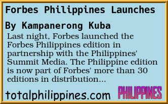 forum post: forbes philippines launches total philippines