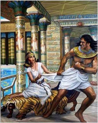 the story of joseph and potipars wife as told in the bible