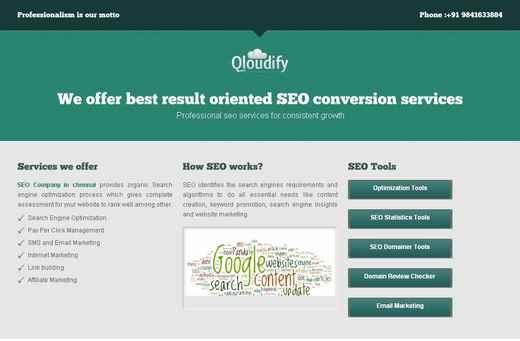 Forum Post: SEO in Chennai, Freelance SEO consultant Chennai