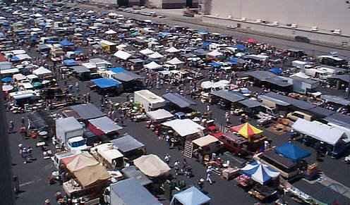 Over 800 Ers At The Long Beach Swap Meet Vets Stadium