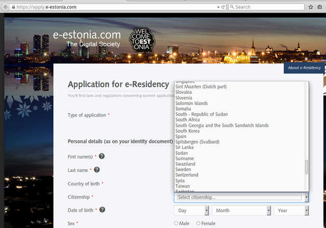 Forum Post: e-residency: Estonia added to Stateless Hall of