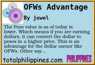 ofw advantages