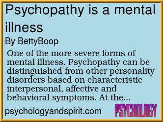 behaviors and symptoms of a psychopath