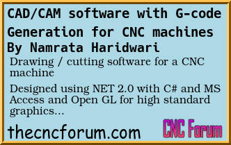 Forum Post: CAD/CAM software with G-code Generation for CNC