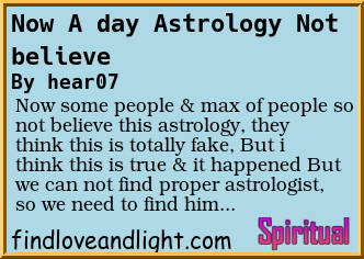an astrologers day