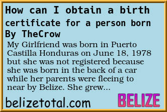 Question How Can I Obtain A Birth Certificate For A Person Born In